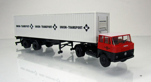 "Henschel HS 16 TS 40ft-Container-SZ ""Union Transport"""
