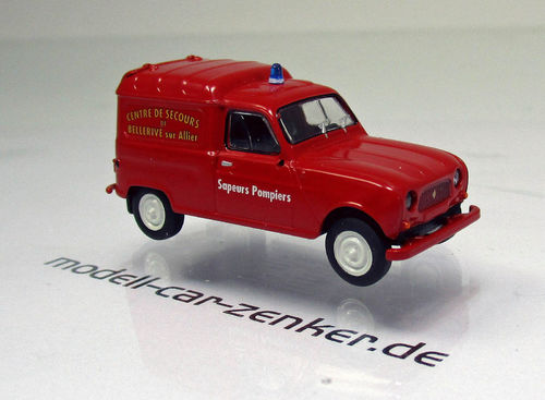 "Renault R 4 Fourgonnette "" Sapeurs Pompers Bellrive "" Feuerwehr"