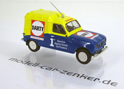 "Renault R4 Fourgonnette "" Darty """