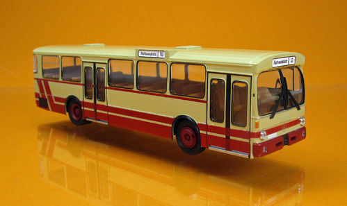 Mercedes Benz O 305 Stadtbus beige / rot TD