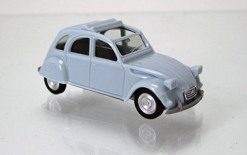 Citroen 2 CV Faltdach offen hellblau / light blue