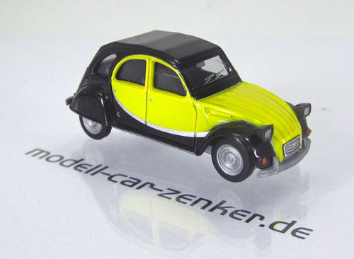Citroen 2 CV Charleston - schwarz / gelb-- black / yellow