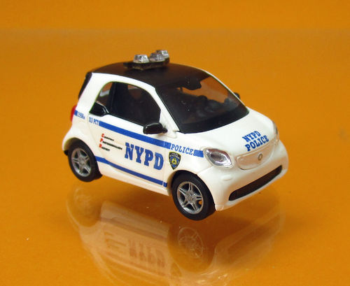 "Smart Fortwo Modell 2014 "" NYPD "" Polizei New York"