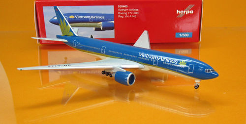 Vietnam Airlines Boeing 777-200 - VN-A146 (Scale: 1:500)