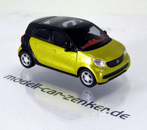 Smart Forfour Modell 2014 » CMD-Collection « Gelb