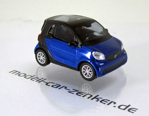 Smart Fortwo Coupé Modell 2014 » CMD-Collection « Blau