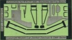 MCZ Zubehör 003 Spiegel und Zubehör für Traktor Fortschritt ZT 300 303 HO 1 87