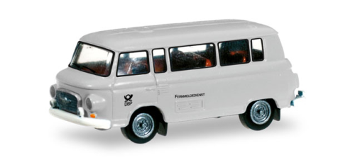 "IFA Barkas B 1000 Bus "" DP - Post Fermeldedienst "" - Scale 1/120"