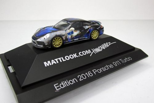 "Porsche 911 Carrera Turbo ""Mattlook Edition 3"" in 1:87"
