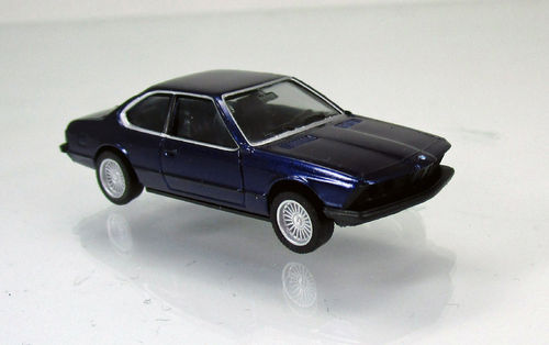 BMW 635 CSI, alpin blau metallic in 1:87