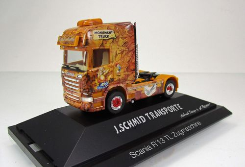"Scania R'13 Zugmaschine ""Herpa Monument Truck"" in 1:87"