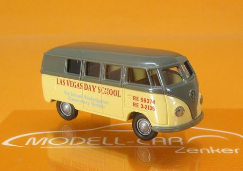 "VW Kombi T1a "" Las Vegas Day School "" USA"" 1:87"