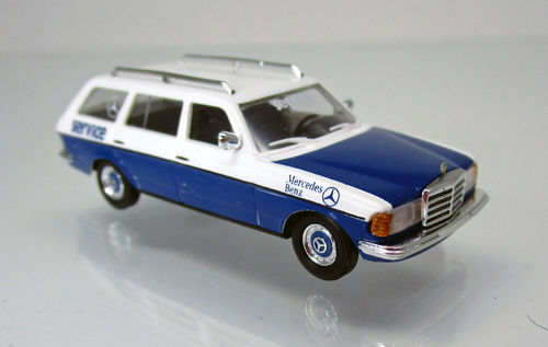 "Mercedes Benz W 123 T-Modell "" Service-Mobil """