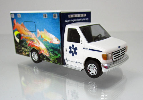 "Ford E-350 "" Wyoming Medical Center "" Nr.1 - Cutthroat trout"