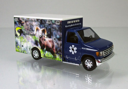 "Ford E-350 "" Wyoming Medical Center "" Nr.4 - Bighorn sheep"