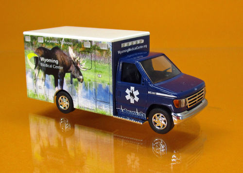 "Ford E-350 "" Wyoming Medical Center "" Nr.7 - Moose"