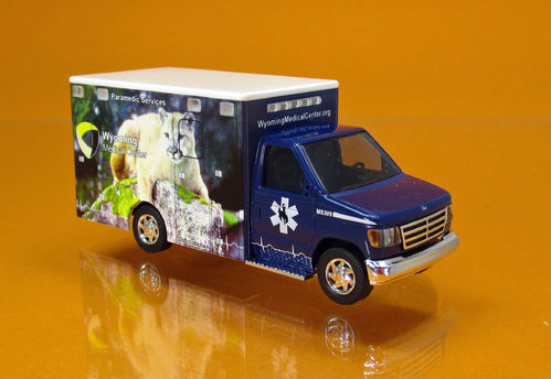 "Ford E-350 "" Wyoming Medical Center "" Nr.9 - Moutain lion"
