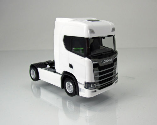 Scania CS20 Zugmaschine, weiß 1:87
