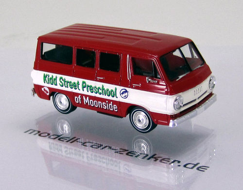 "Dodge A 100 Bus "" Moonside Preschool "" USA - TD"
