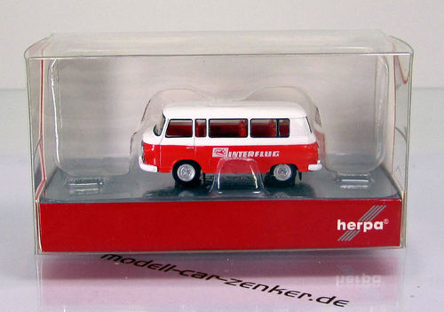 "IFA Barkas B 1000 Bus "" Interflug "" - Scale 1/120 TT"
