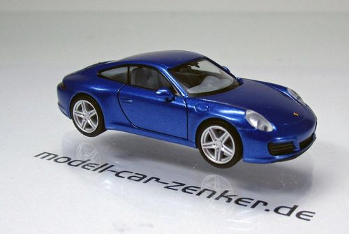 Porsche 911 Carrera 2 Coupé (991.2) BJ2015 - saphierblau metallic