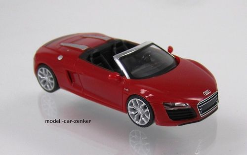 Audi R8® Spyder V10 facelift brillantrot / brilliant red