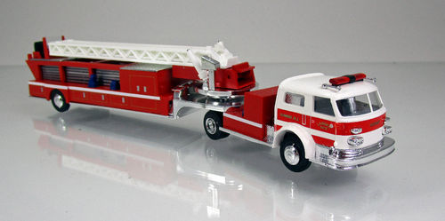 "American La France Leitertrailer Feuerwehr "" Summit N.Y. "" USA"