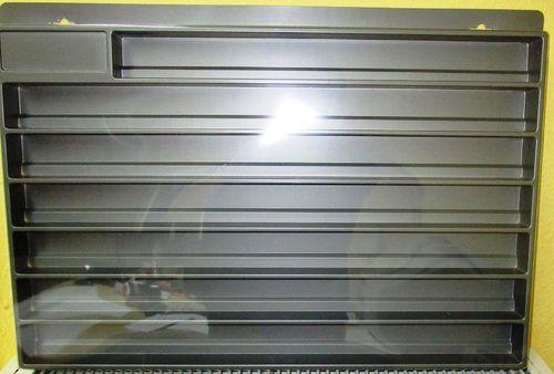 Herpa 029254 LKW Schaukasten weiß Eurolänge 64,5cm x 45cm x 3,5cm