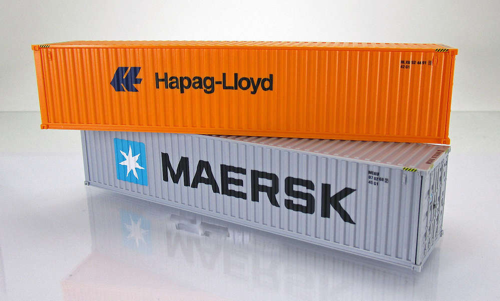 Zubehorpackung 40 Fuss Container Maersk Hapag Lloyd