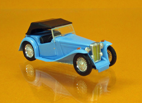 MG Midget TC blau
