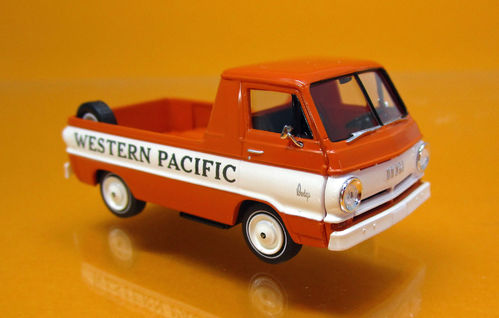 "Dodge A-100 PickUp ""Western Pacific"", TD (US)"