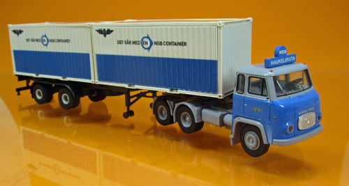 "Scania LBS 76 SZ mit 2x 20ft-Container der ""NSB"" (NO)"
