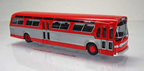 "US Bus "" Fischbowl "" - Rot"
