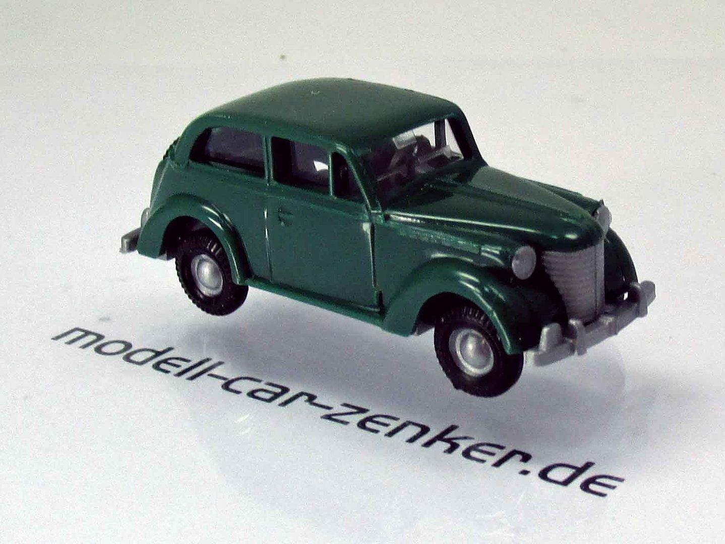 opel olympia baujahr 1938 - grün - modell-car zenker