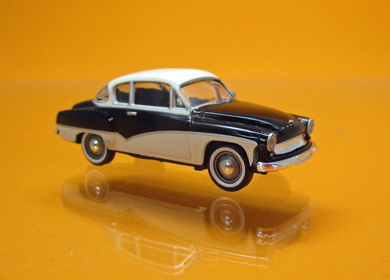 ifa wartburg 311 coup schwarz wei td sonderserie mit. Black Bedroom Furniture Sets. Home Design Ideas