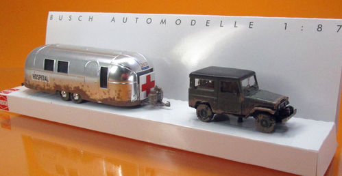 Toyota Land Cruiser & Airstream » Hospital«