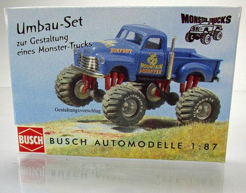 Zubehör W50L »Fahrgest.//Spoiler« H0 Fahrzeug Modell 1:87 ESPEWE BUSCH 95902
