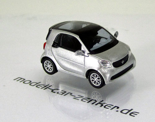 Smart Fortwo Coupé Modell 2014 » CMD-Collection « Silber