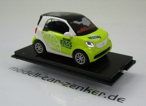 Smart Fortwo Coupé Modell 2014 » Veltins Fassbrause « Zitrone