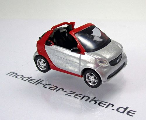Smart Fortwo Cabrio 2015 » CMD-Collection « - Silber