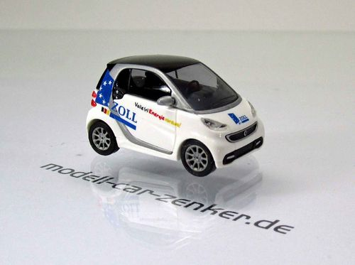 Smart Fortwo Coupé 2012 » Zoll « Weiß