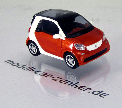 Smart Fortwo Coupé Modell 2014 » CMD-Collection « Rotorange