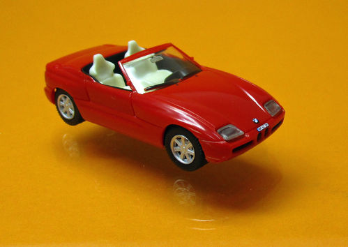"BMW Z 1 Roadster "" Herpa H-Edition ""  - rot"