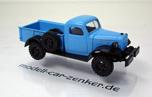 Dodge Power Wagon-blau (1:87)