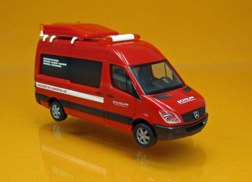"Mercedes-Benz Sprinter BF3 ""Scholpp"" (1:87)"