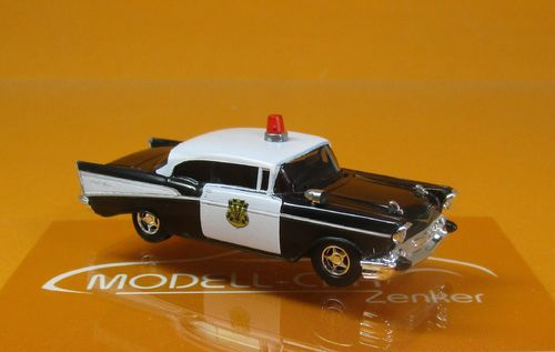"Chevrolet Bel Air (1957) ""Police Modesto/Kalifornien"" (USA)"