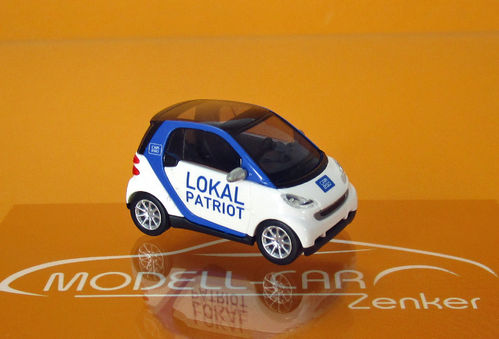 "Smart Fortwo 07 ""Car2go - Lokal-Patriot"""
