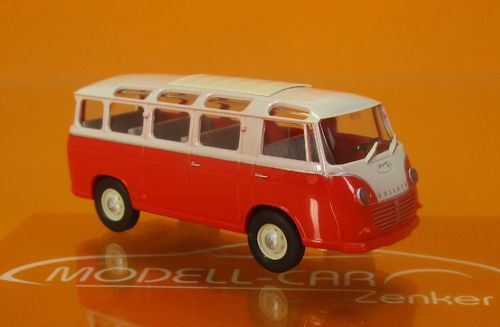Goliath Express 1100 Luxusbus rot/creme 1:87