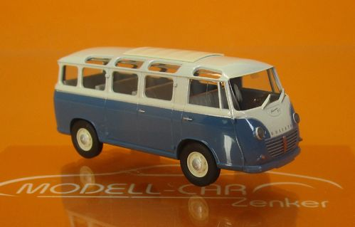 Goliath Express 1100 Luxusbus blau/creme 1:87