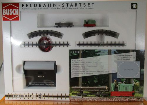 "Feldbahn Start-Set ""Holztransport"" H0"